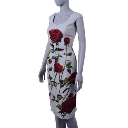 Dolce & Gabbana Dress with rose print