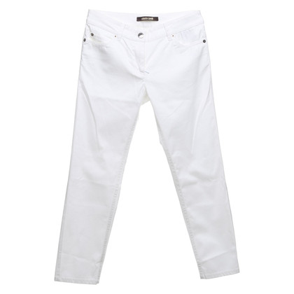 Roberto Cavalli trousers in white