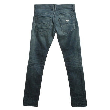 Armani Jeans Jeans mit Waschung