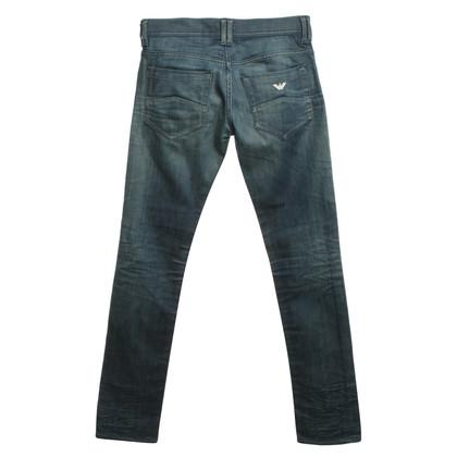 Armani Jeans Jeans délavé