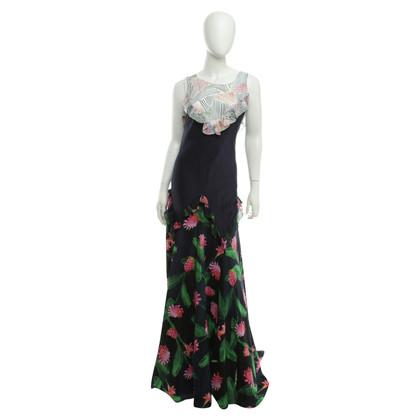 ISOLDA Silk Dress Maxi