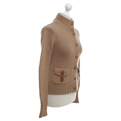 Ralph Lauren Strickjacke in Beige