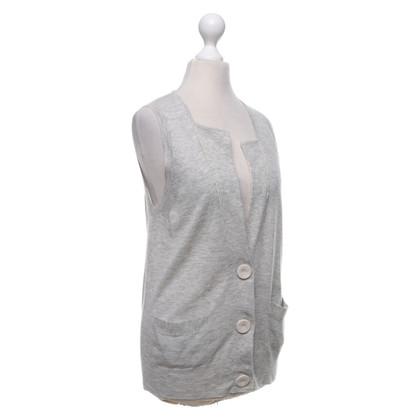 3.1 Phillip Lim Gilet lavorato a maglia in grigio