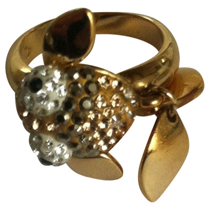 Swarovski Golden ring