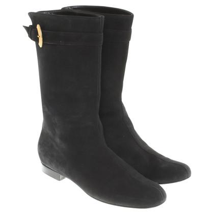 Alberta Ferretti Boots in Black