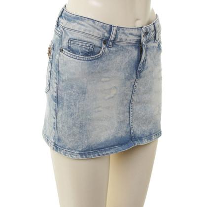 D&G Mini skirt in light blue