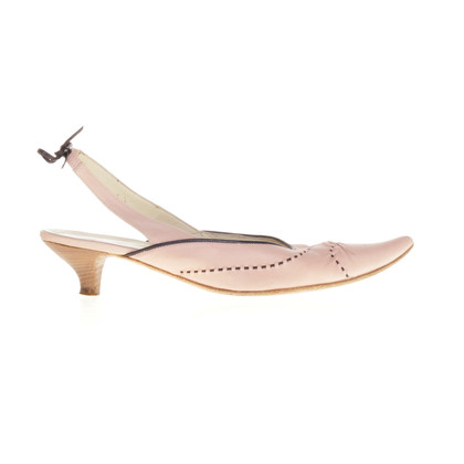 Henry Beguelin Slingbacks in nude