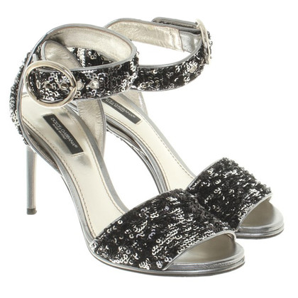 Dolce & Gabbana Sandalen met pailletten