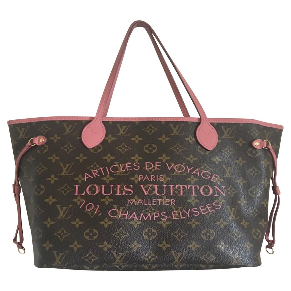 "Louis Vuitton ""Ikat Neverfull MM Monogram Roses"""