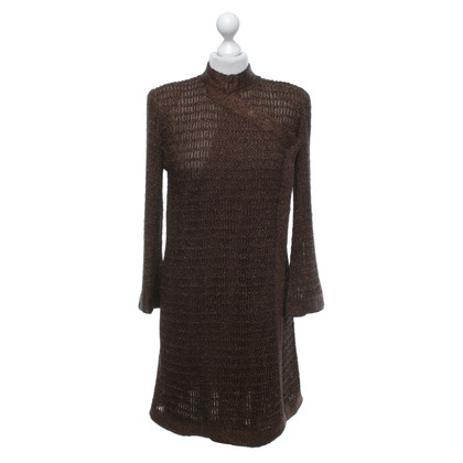 Missoni Knitted coat in brown