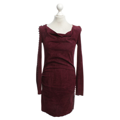 Jitrois Dress made of suede