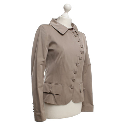 René Lezard Jacket in beige color