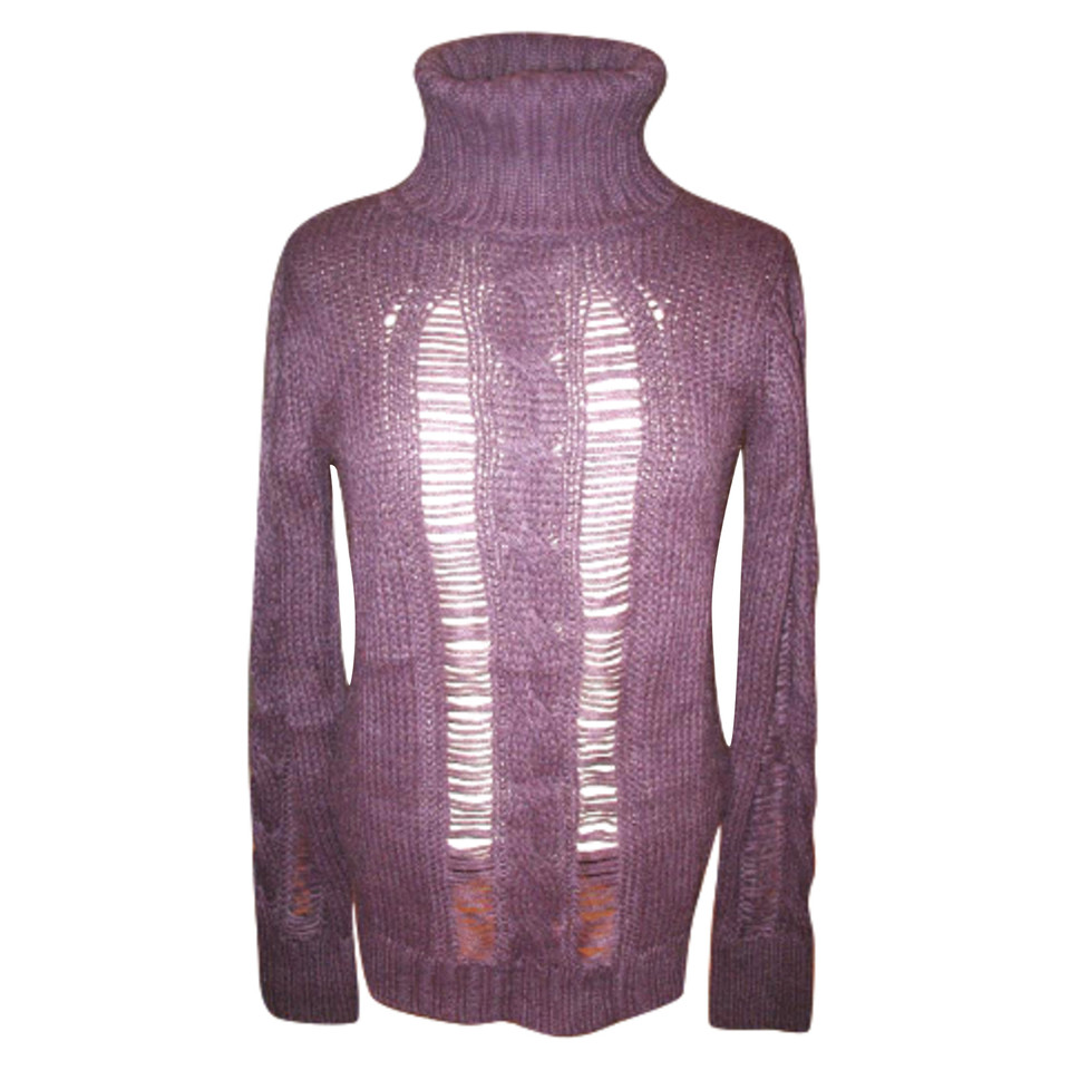 Calvin Klein Purple wool sweater of Calvin Klein - Buy Second hand ...