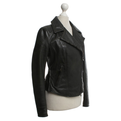Other Designer Matchles leather jacket in brown