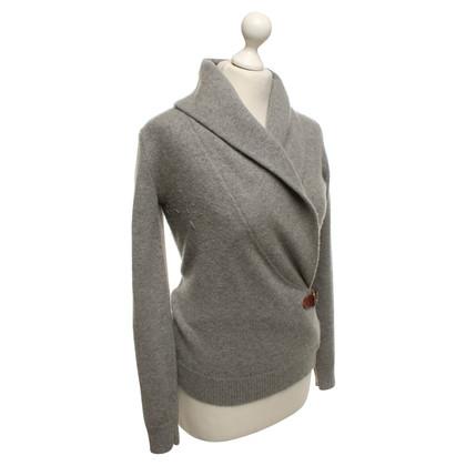 Ralph Lauren pull en tricot en gris clair