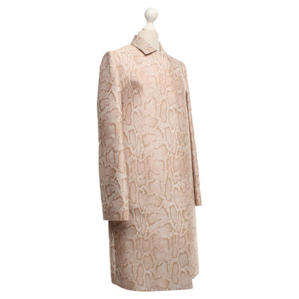 Stella McCartney Coat with reptile pattern
