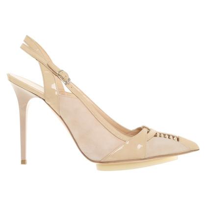 Balenciaga Sling-pumps in beige