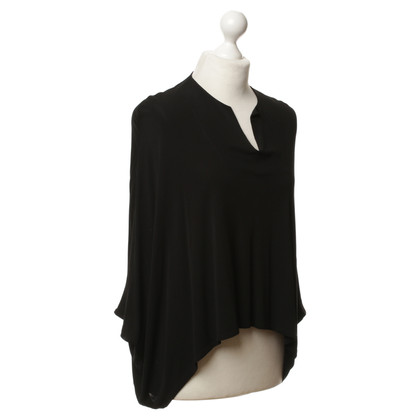 The Row top in black