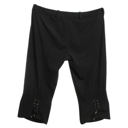 Marithé et Francois Girbaud 3/4 pantaloni in nero