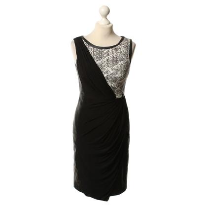 Karen Millen Dress with material mix