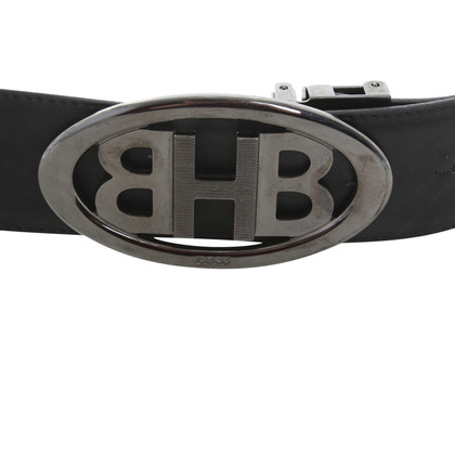 Hugo Boss Leather belt in black