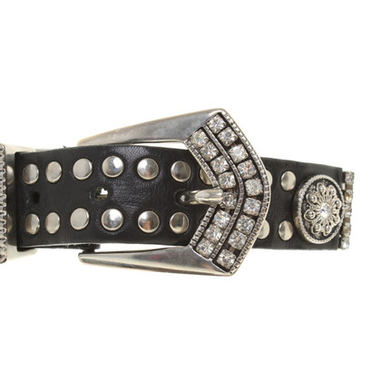 Other Designer Manni - belt with jewelery