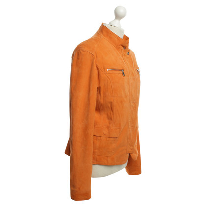 Mabrun Veste en daim à Orange