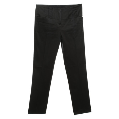 Jil Sander Cotton Trousers in anthracite