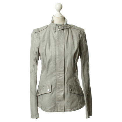 Belstaff Leather jacket in grey