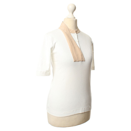 Fabiana Filippi Top in wit/beige
