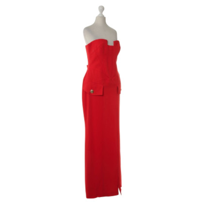 Versace for H&M Corset Dress in Red