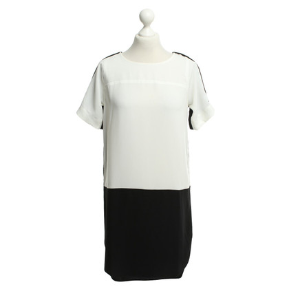 Calvin Klein Dress in black / white
