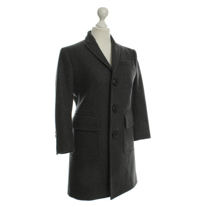 Dsquared2 Grey wool coat