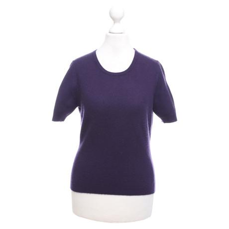 Andere Marke Private Industries - Kaschmir-Shirt Violett