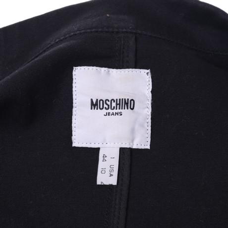 Blazer mit Schwarz Blazer Outs Cut mit Moschino Outs Moschino Blazer Cut mit Schwarz Moschino Cut 8HqSZ