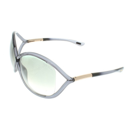 Tom Ford Sonnenbrille in Blaugrau