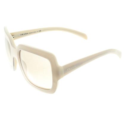 Prada Sunglasses in cream white