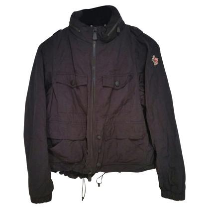 Moncler Black raincoat