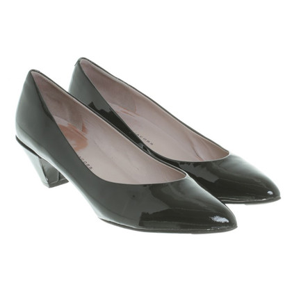 Marc by Marc Jacobs Patent leather pumps in black