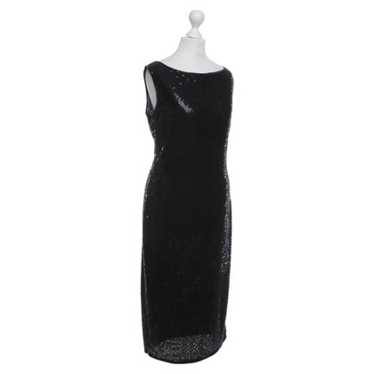 Pauw Cocktail dress with sequins in black