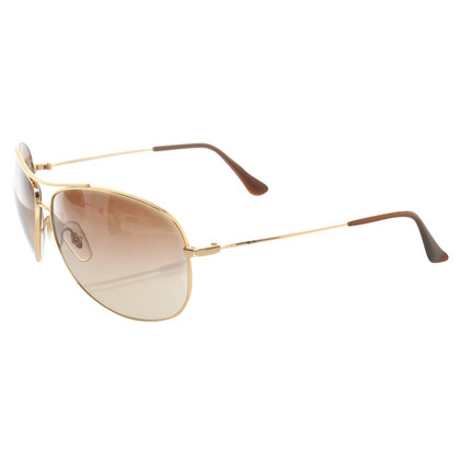 Ray Ban Sonnenbrille mit Metallapplikation