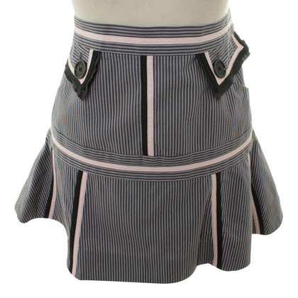 Marc Jacobs Gestreept mini rok
