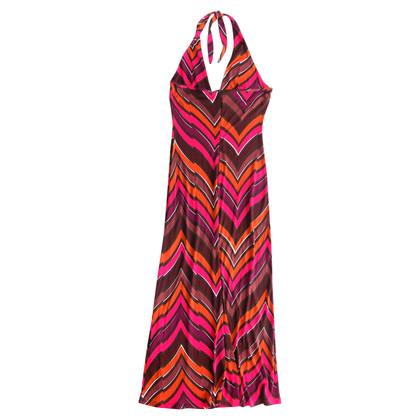 Max & Co Neckholder-Kleid mit Muster