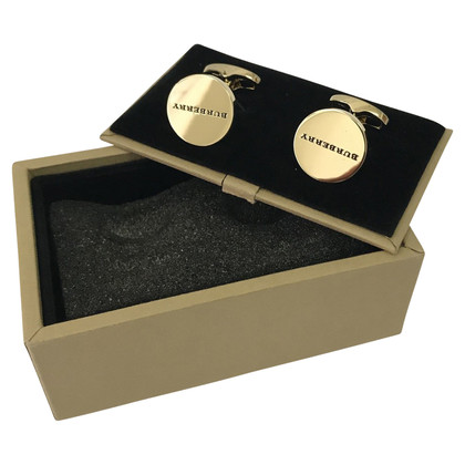 Burberry Gold colored cuff links