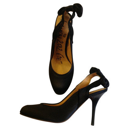 Lanvin Satin Pumps