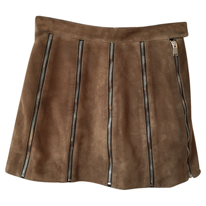 Saint Laurent skirt made of suede