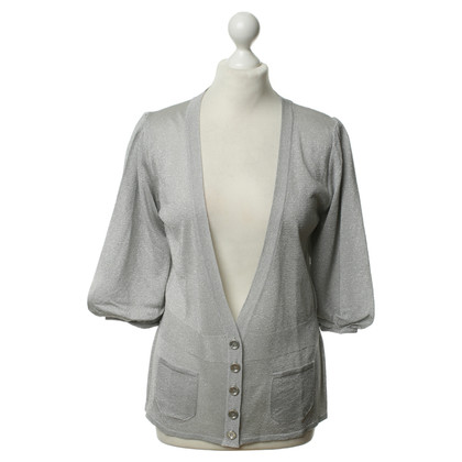 Burberry Silver-colored Cardigan