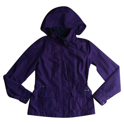 Woolrich Purple hooded jacket