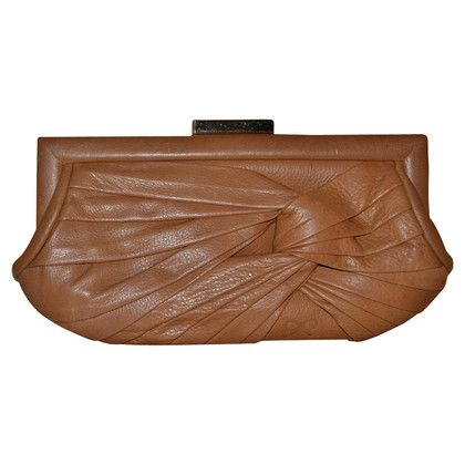 Anya Hindmarch Leder-Clutch