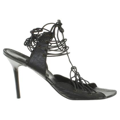 Plein Sud Sandals in zwart